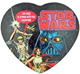 The Force is Strong with You Valentine! Retro Style Star Wars Movie Reel Candy Tin
