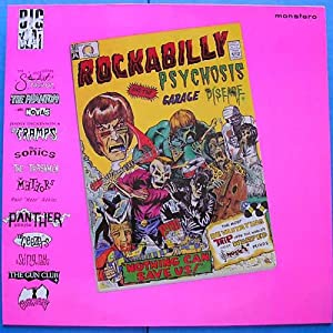 rockabilly psychosis & garage disease LP