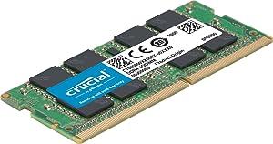 Crucial 32GB Kit (16GB X2) DDR4 2666 MT/S CL19 SODIMM 260-Pin Memory - CT2K32G4SFD8266 (Tamaño: 32GB Kit (16GBx2))