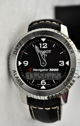 Tissot 天梭男士 T96147832高科技系列航行者 396.74美元