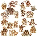 Stonehaven Dwarf Adventurers - Set of 20 Unique Dwarf Miniatures