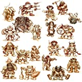 Stonehaven Dwarf Adventurers - Set of 20 Unique Dwarf Miniatures