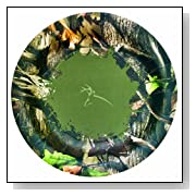 Next Camo Party Supplies 7 Round Dessert Plates 8pk