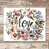 Love Wall Art Print - Unframed - 8x10