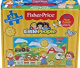Fisher Price 24 Piece Little People Floor Jigsaw Puzzle - On The Farm 18m+