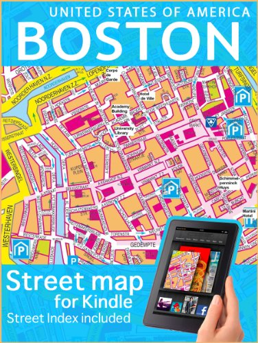 Map of Boston (Maps of the USA)