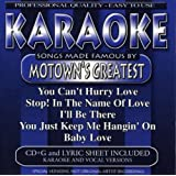 Karaoke: Songs Made Famous Motown's Greatest