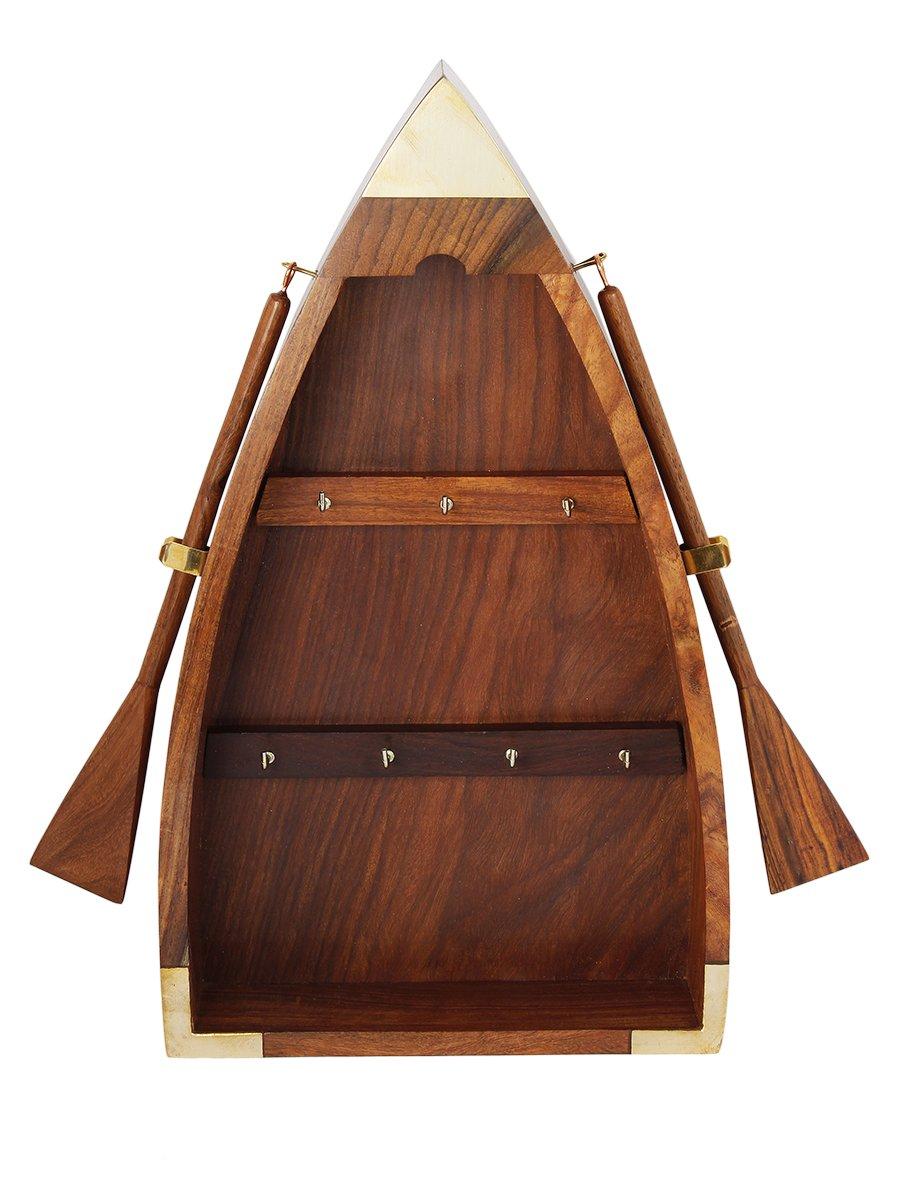 Diwali Gifts Vintage Boat Shaped Key Guard Handmade