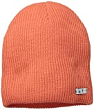 neff Mens Daily Beanie, Neon Coral, One Size