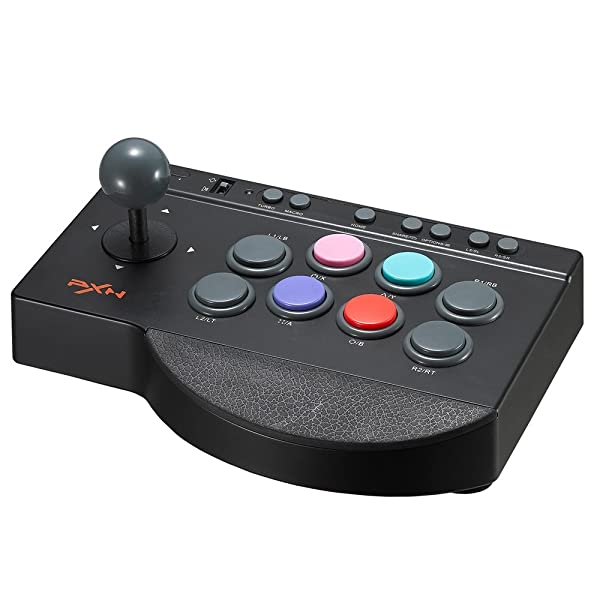 Arcade Fight Stick, YF2009 Wired Fighting Joystick, USB Fightstick Game Controller for PS3 / PS4 / Xbox One/PC (Color: Arcade Fightstick)