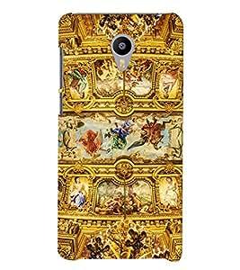 Printvisa A Kings Kingdom Pic Back Case Cover for Meizu m3