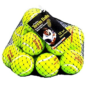 Unique Mesh Pack of 12 Tennis Balls