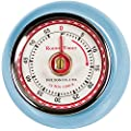 Fox Run Blue Retro Kitchen Timer with Magnet