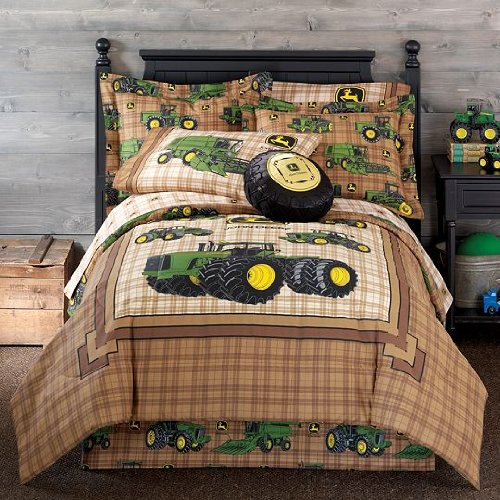... Boys Bedding, John Deere Tractor and Plaid at JCPenney | kidsbeddings