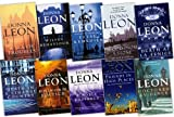 Donna Leon Donna Leon 10 Books Collection Pack Set RRP: £79.9 (Blood from a Stone, Uniform Justice, A Sea of Troubles, Fatal Remedies, A Noble Radiance, Friends in High Places, Doctored Evidence, Death in a Strange Country, Wilful Behaviour, Death at La