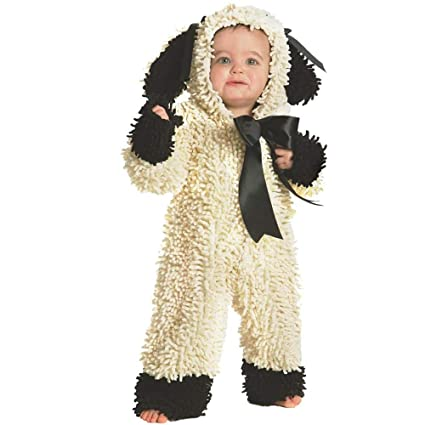 Amazon.com: Woolly Lamb Deluxe Toddler Costume: Infant And Toddler Costumes: Baby