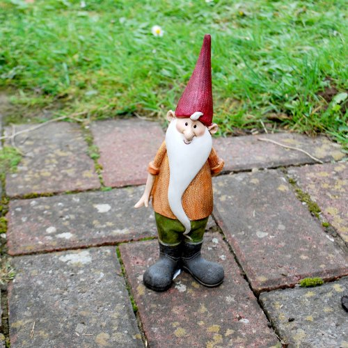 Magnus The Bearded Garden Gnome Ornament In Resin