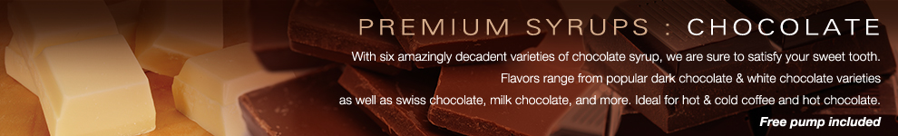 Amoretti Premium Syrups for Coffee, Tea and Beverages : Chocolate