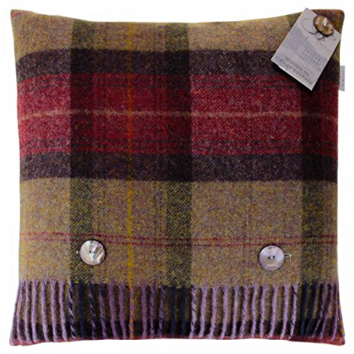 bronte-skye-check-mulberry-pure-new-shetland-wool-feather-filled-cushion-40x40cm-made-in-uk-moons