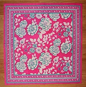 Amazon.com: India Rose Napkin-Table Linen-Cotton-Bright Pink ...