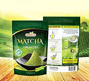 Matcha Green Tea Powder: Authentic Japanese Green Tea of High Quality - Ceremonial Grade for Prepare Your Tea Ceremony