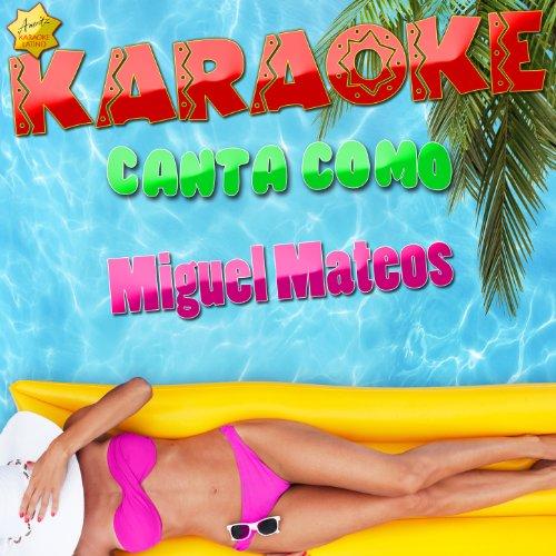 Es Tan Facil Romper Un Corazon (Popularizado Por Miguel Mateos) [Karaoke Version] front-179836