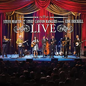 Steve Martin and the Steep Canyon Rangers featuring Edie Brickell Live [CD+DVD] from Rounder