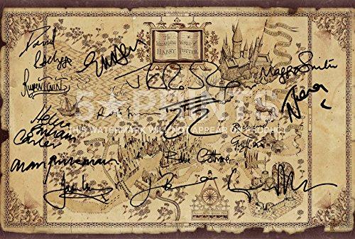 harry-potter-wizarding-world-signed-pp-x-15-cast-jk-rowling-daniel-radcliffe-emma-watson-rupert-grin