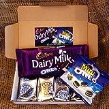 Oreo Lovers Treat Box - Cadbury Dairy Milk Oreo Bar, Mini Oreo Pack, Oreo Original and Chocolate Crème Biscuits - By Moreton Gifts