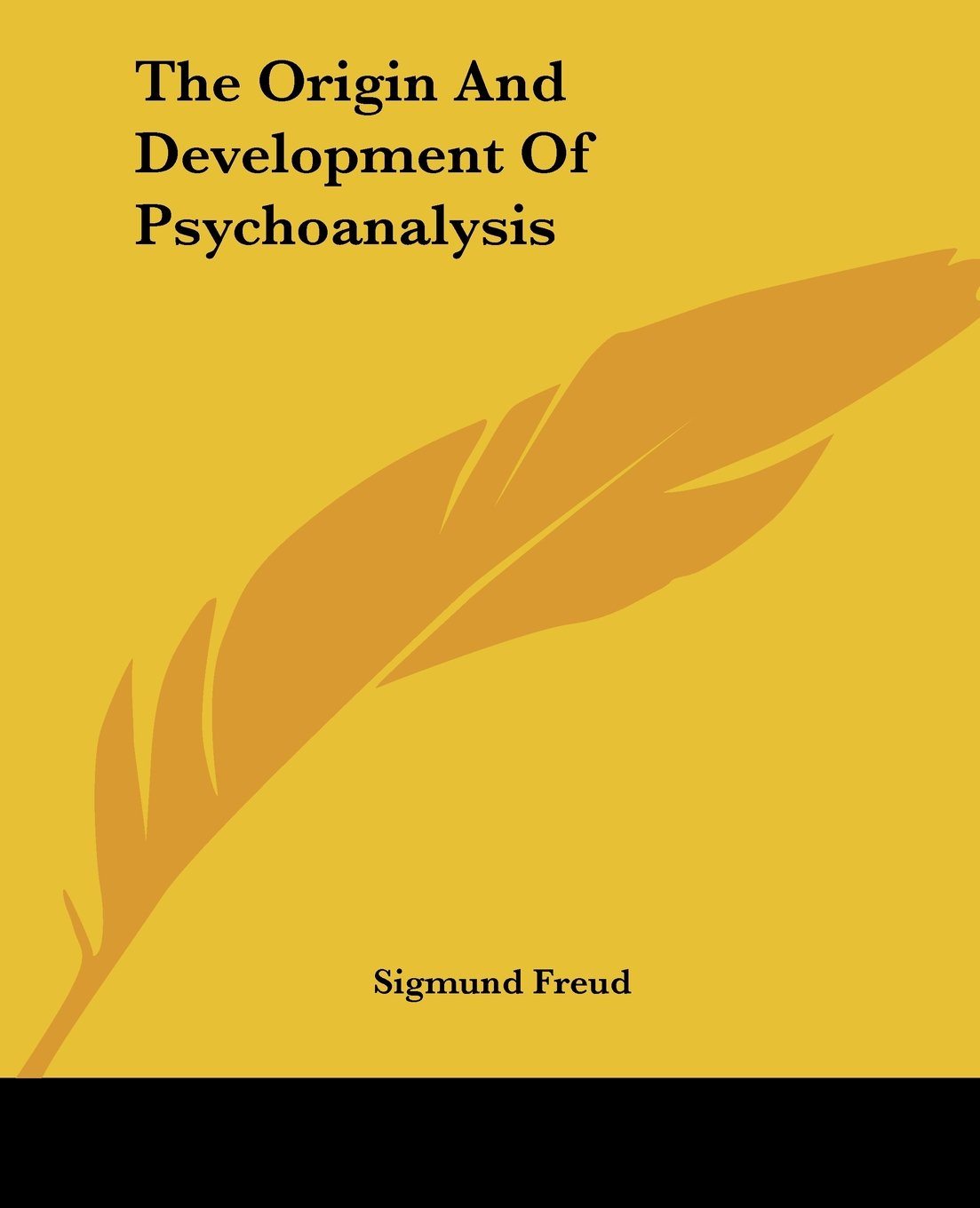 Sigmund Freud - The Origin and Development of Psychoanalysis, Rudolf Allers