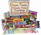 Feel Better Soon Care Package Gift Basket Box Retro Nostalgic Candy Get Well