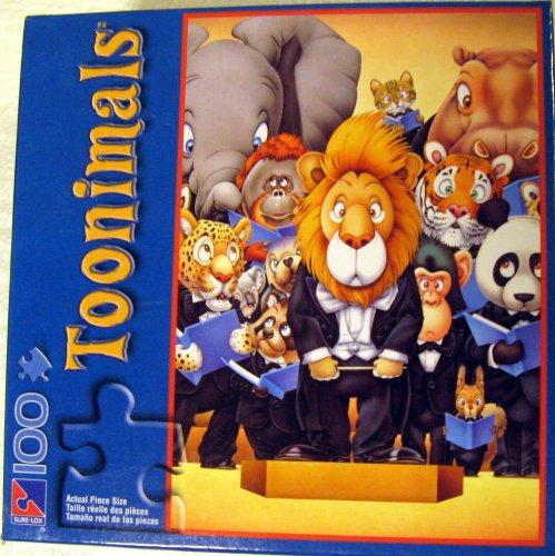 Toonimals 100pc. Puzzle