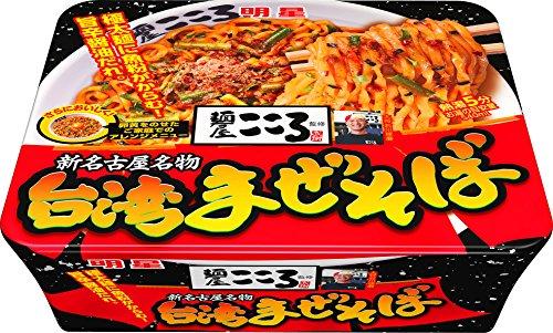 明星 麺屋こころ監修 台湾まぜそば 121g×12個