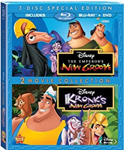 The Emperor's New Groove / Kronk's New Groove (Three-Disc Special Edition) [Blu-ray / DVD]