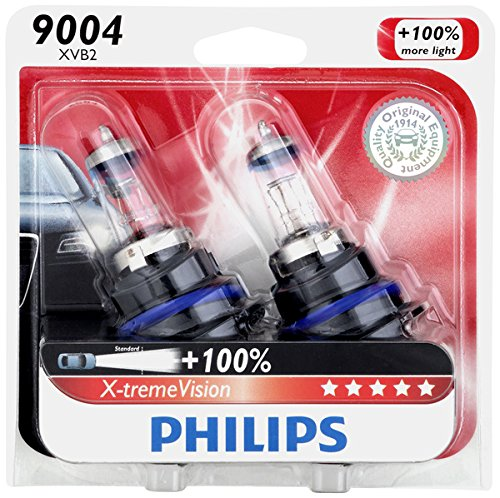 Philips 9004 X-tremeVision Upgrade Headlight Bulb, 2 Pack (95 Toyota 4runner Headlights compare prices)