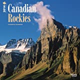 Canadian Rockies 2014 18-Month Calendar