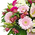 Clare Florist Cottage Garden Fresh Flower Bouquet - Roses, Lilies and Chrysanthemums