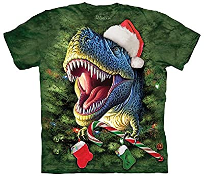 X-Mas T-Rex -Christmas T Shirt Child Unisex The Mountain