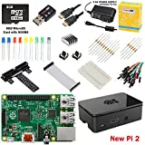 CanaKit Raspberry Pi 2 (1GB) Ultimate Starter Kit (Over 40 Components: New Raspberry Pi 2 + WiFi Dongle + 8GB SD Card + Case + Power Supply and many more)