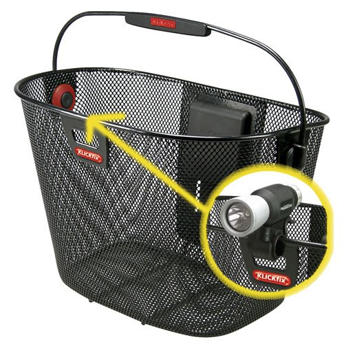 KLICKfix by Rixen & Kaul Unilux bicycle basket - black