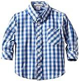 Kitestrings Baby Boys' Check Button Front Shirt