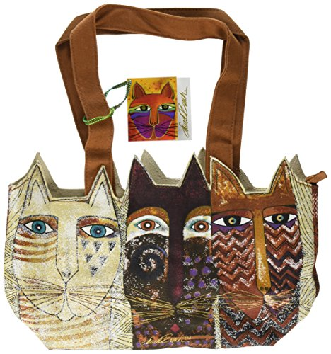 laurel-burch-laurel-burch-medium-tote-zipper-top-14-1-2-von-4-von-203-cm-stammten-katzen
