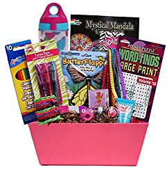 Girl Stuff - Birthday or Special Occasion Gift Basket for Girls and Tweens! from Beyond Bookmarks