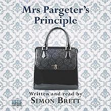 Mrs Pargeter's Principle Audiobook by Simon Brett Narrated by Simon Brett