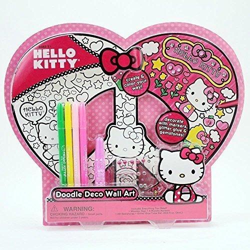 Hello-Kitty-Doodle-Wall-Art-Set