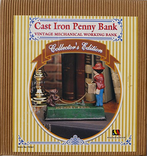 Acrobat Cast Iron Penny Bank Collector's Edition