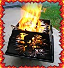 Skull design portable steel Fire ring Pit 'V-Twin USA