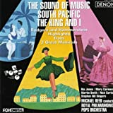 Sound of Music, South Pacific, The King and I