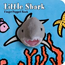 Little Shark: Finger Puppet Book (Little Finger Puppet Board Books)