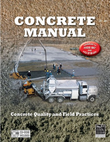 Concrete Manual: Updated to the 2006 IBC and ACI 318-05 - ICC (distributed by Cengage Learning) - IC-9090S06 - ISBN: 1580015018 - ISBN-13: 9781580015011